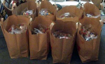 packed goody bags