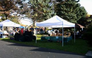 outside vendors at craft fair