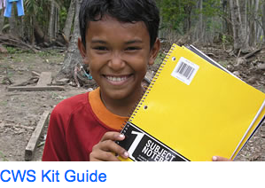 CWS school kit guide