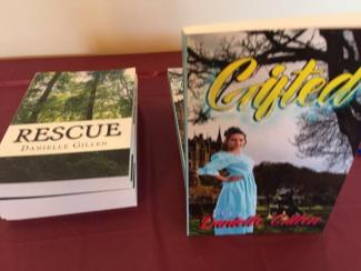 "books by Danielle Gillen: ""Rescued"" and ""Gifted"""