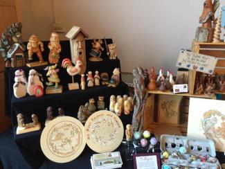 wood carvings by Maxine