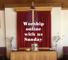 Worship online with us this Sunday